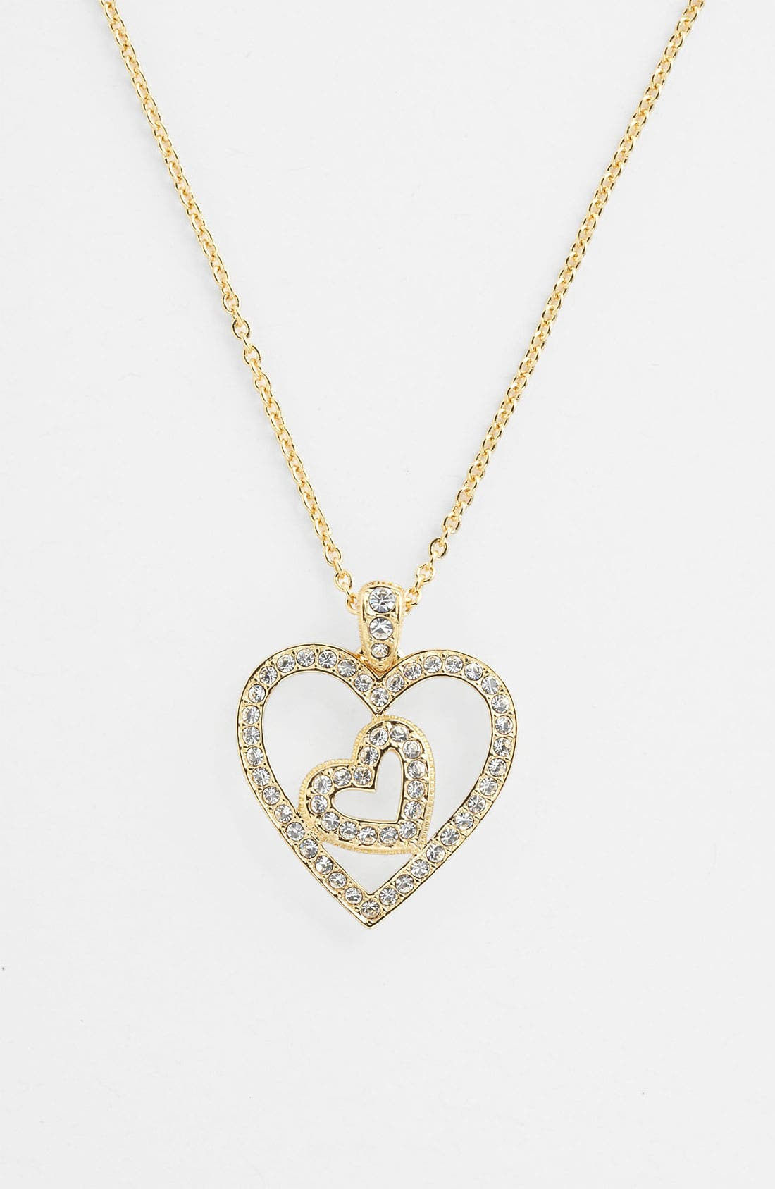 Alternate Image 1 Selected - Nadri Boxed Heart Pendant Necklace (Nordstrom Exclusive)