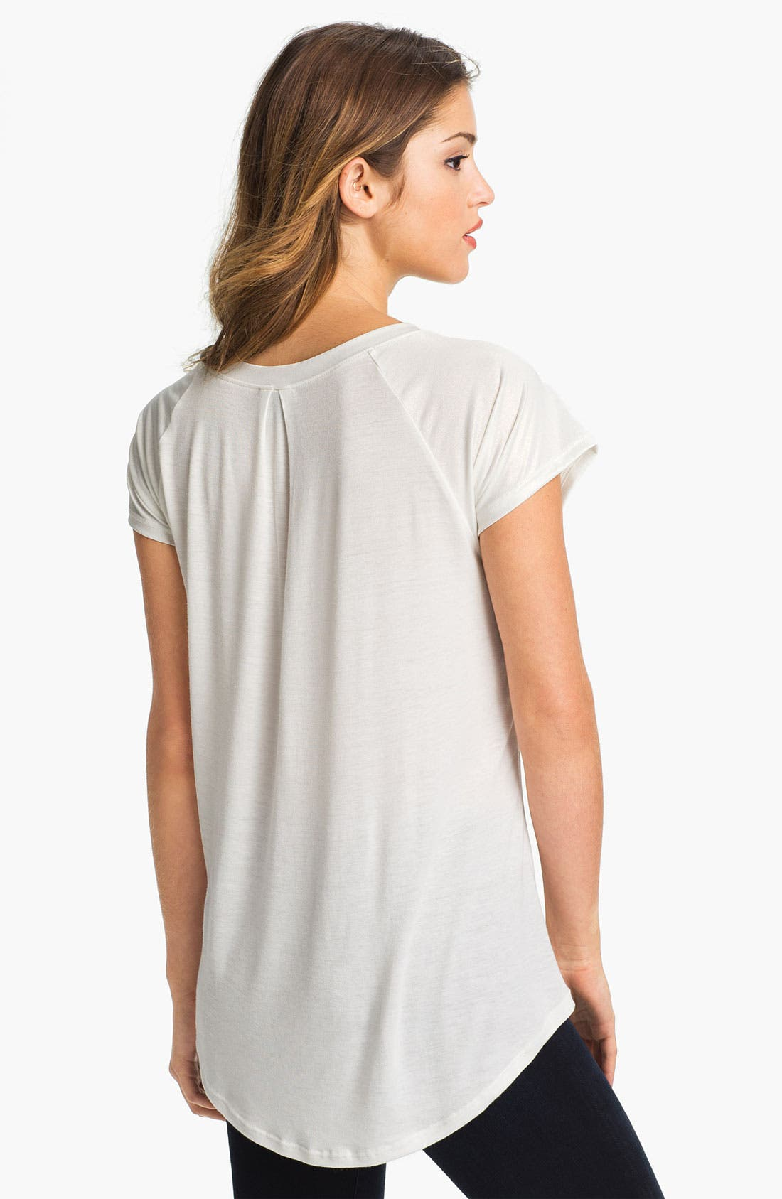 Alternate Image 2  - MOD.lusive Coated Front Tee