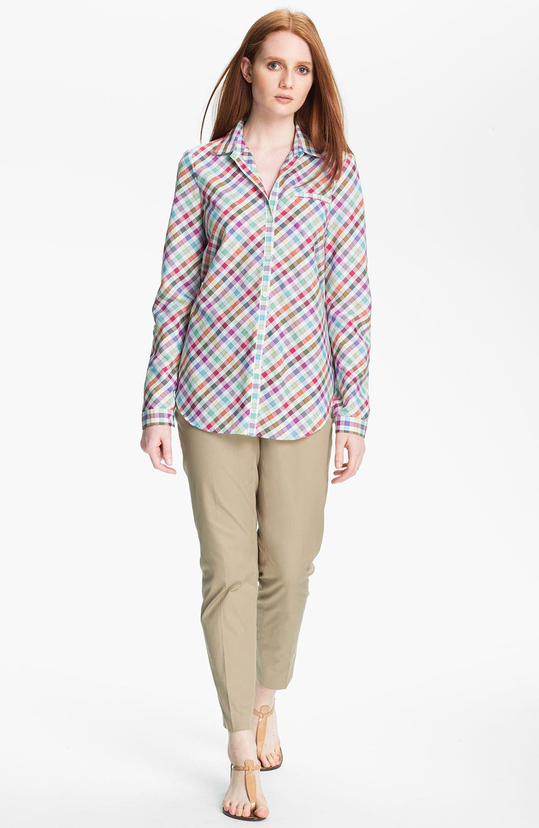 Alternate Image 2  - Lafayette 148 New York 'Felice' Shirt