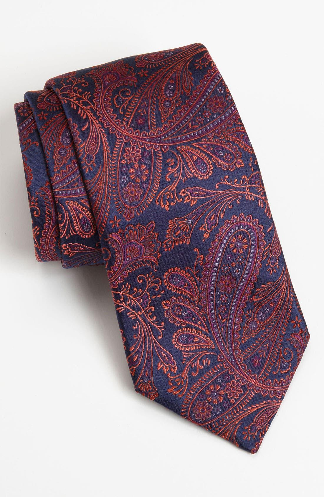 Alternate Image 1 Selected - Ted Baker London Woven Silk Tie