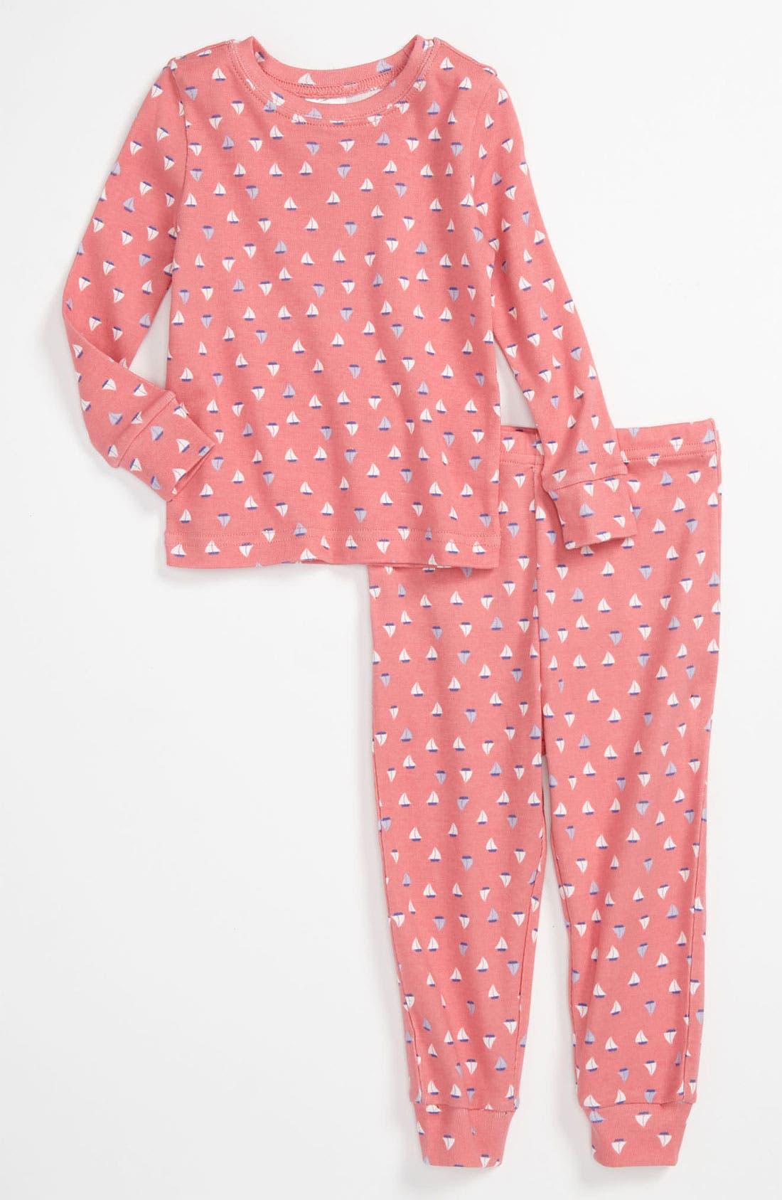 Main Image - Tucker + Tate Fitted Pajamas (Toddler Girls)