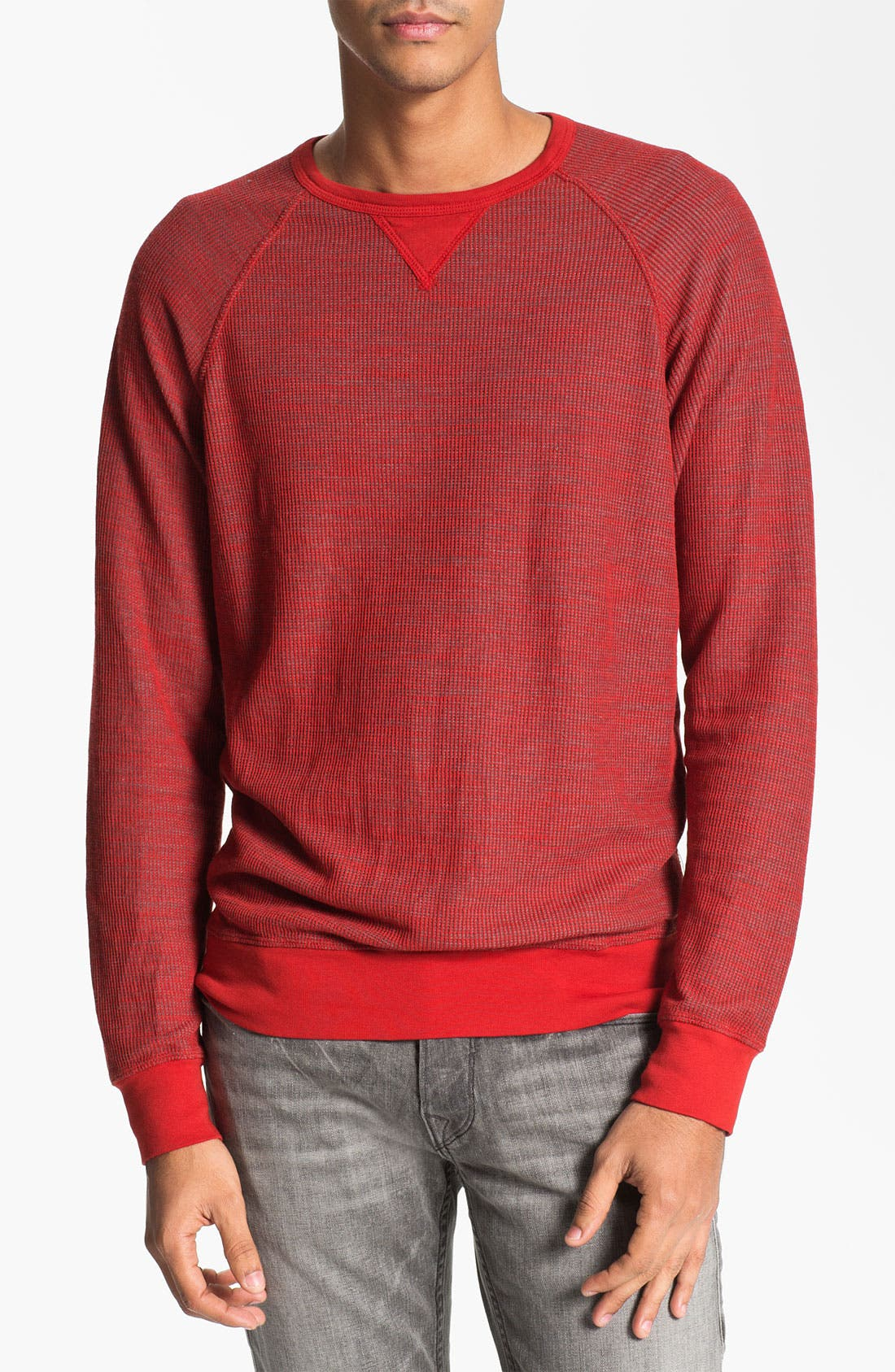 Alternate Image 1 Selected - Splendid Mills Reversible Crewneck Sweatshirt