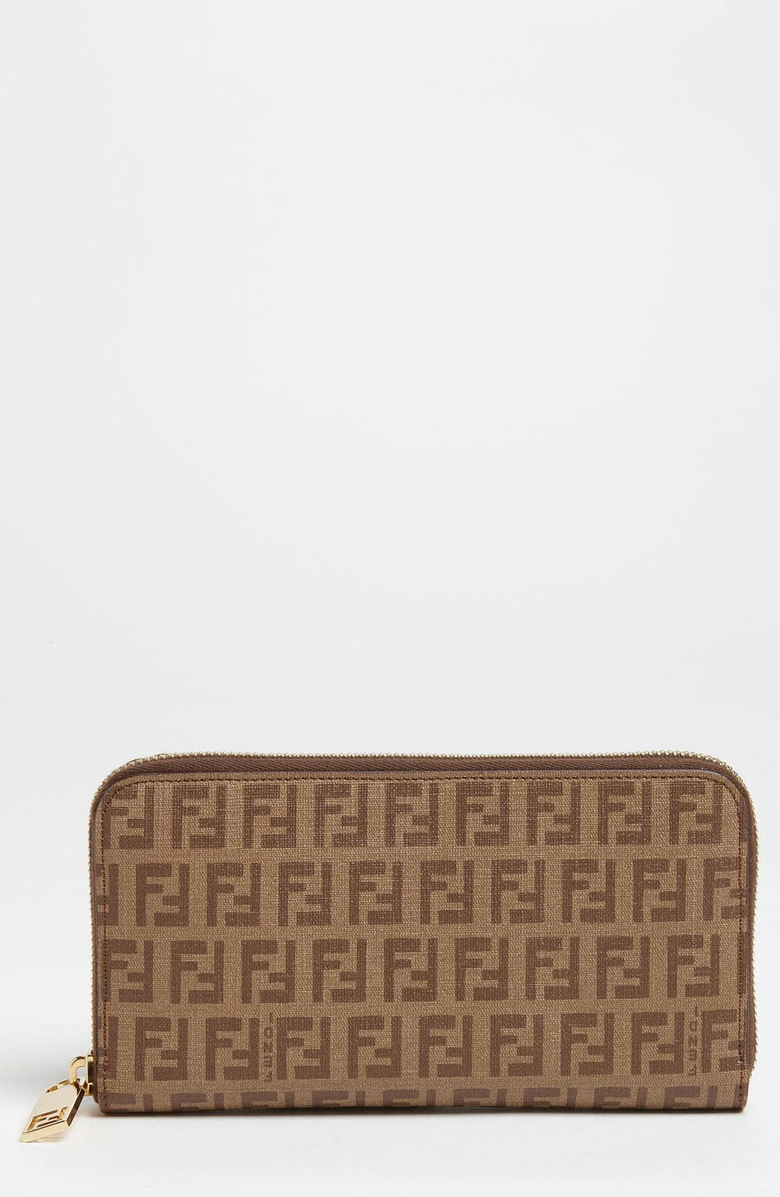 Alternate Image 1 Selected - Fendi 'Forever' Zip Around Wallet