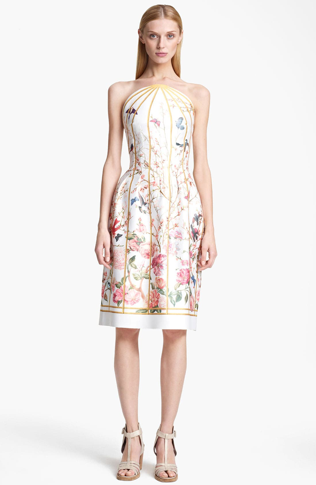 Alternate Image 1 Selected - Thakoon Birdcage Print Dress