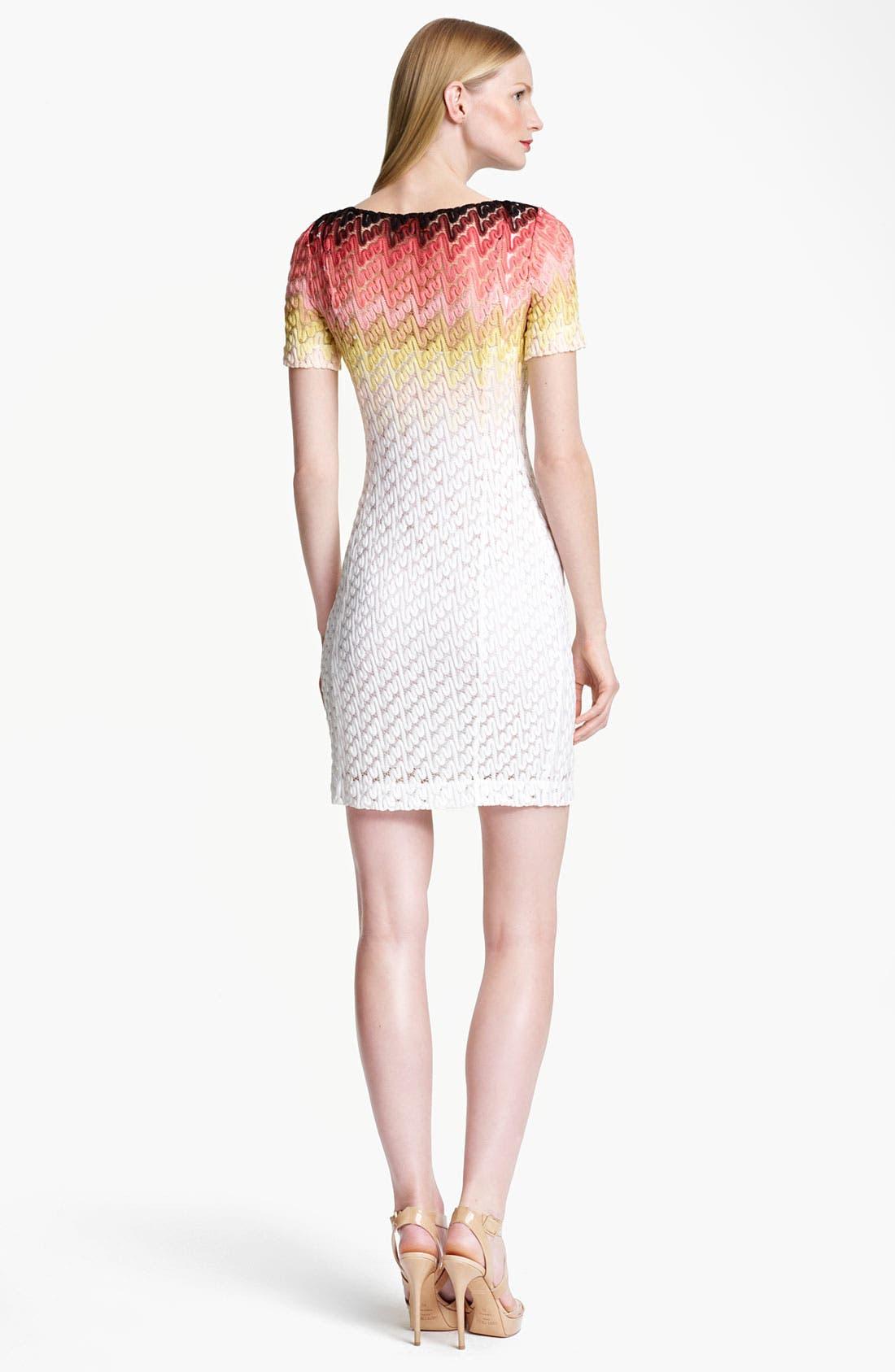 Alternate Image 2  - Missoni Dégradé Lace Stitch Knit Dress