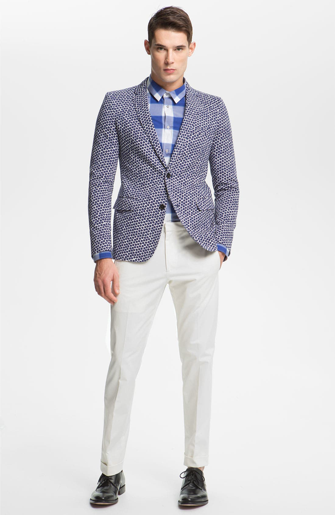 Alternate Image 4  - Jil Sander Hexagon Print Blazer