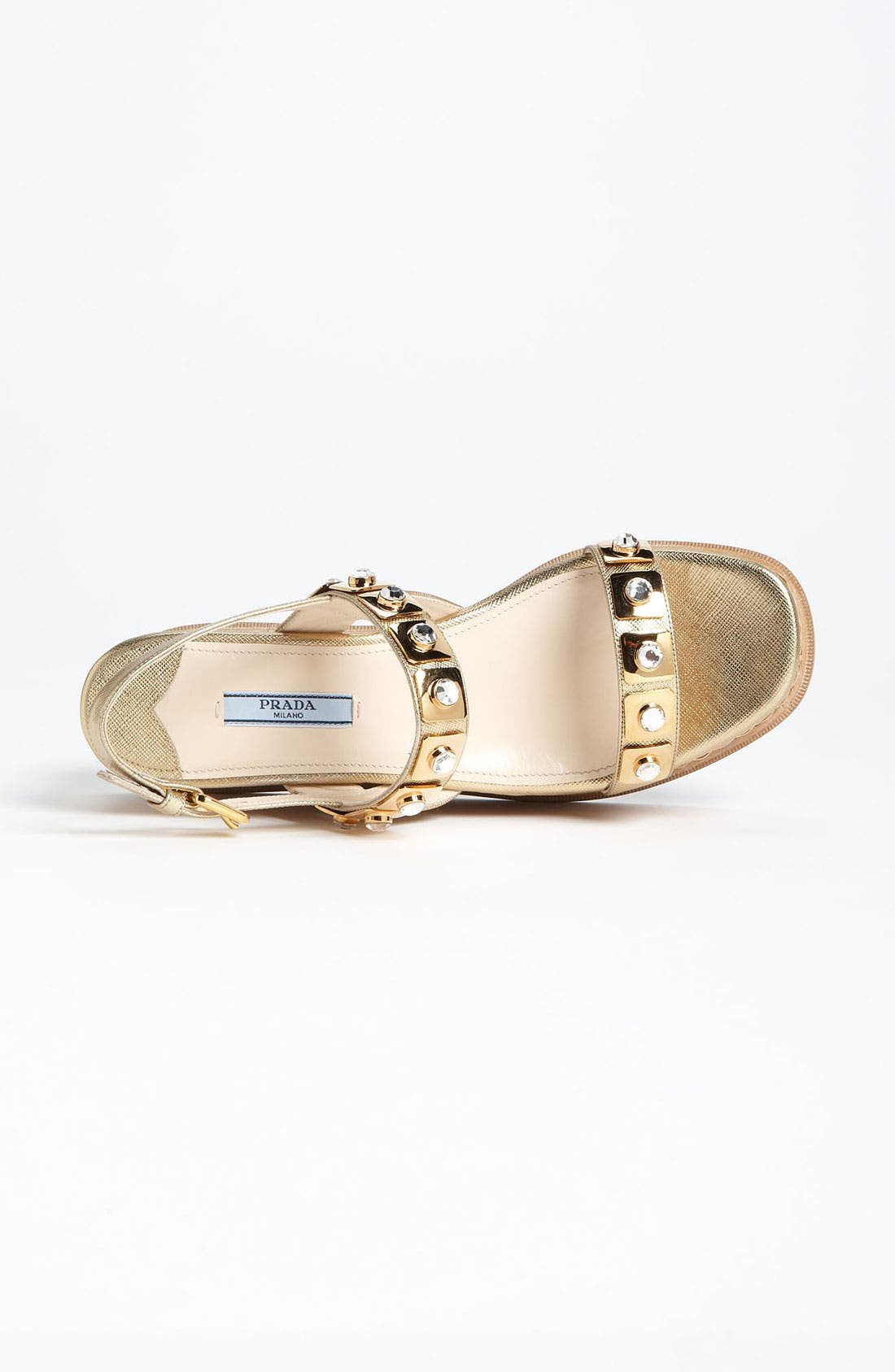 Alternate Image 3  - Prada Two Strap Wedge Sandal