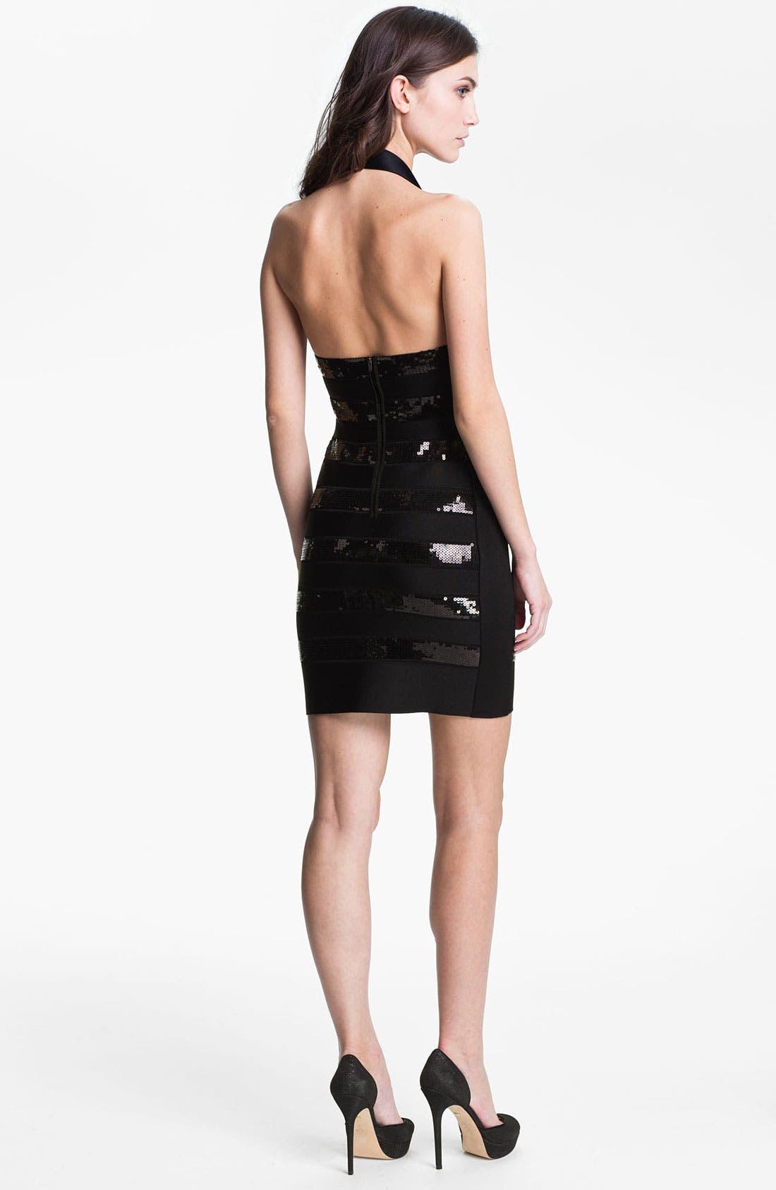 Alternate Image 2  - French Connection 'Sparkle Spotlight' Ponte Knit Sheath Dress