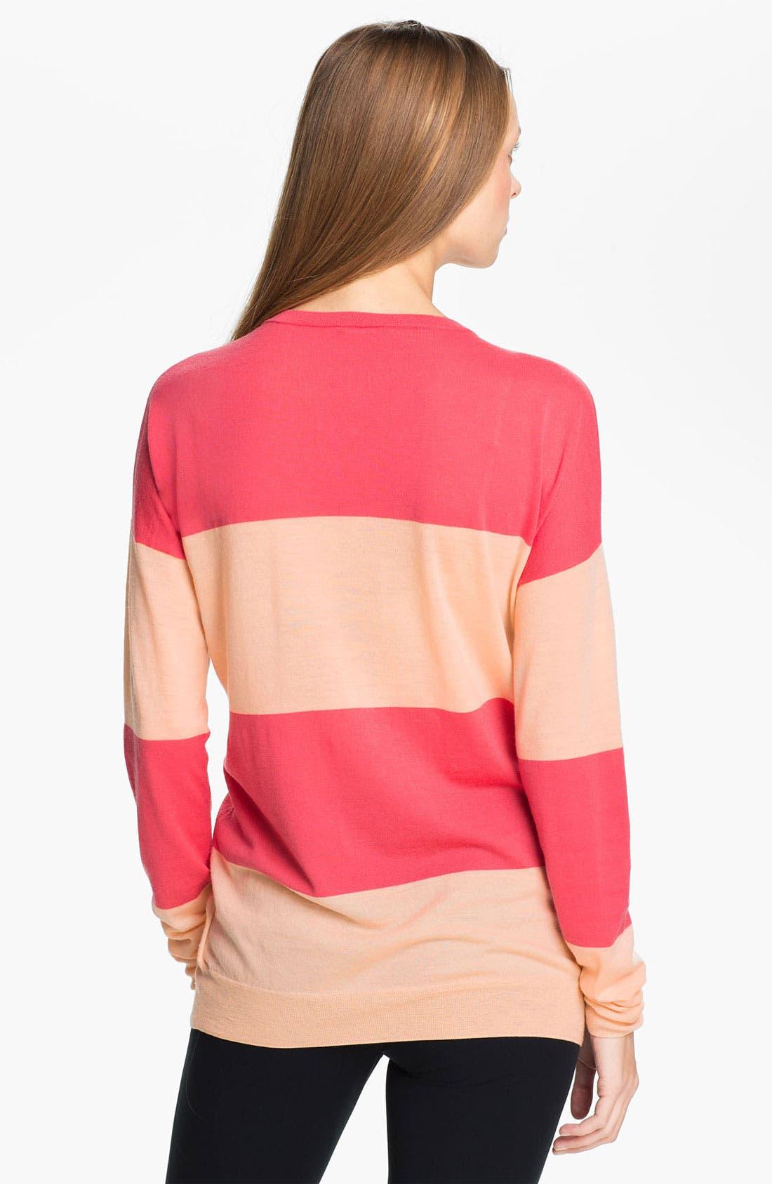 Alternate Image 2  - Theory 'Tollie S.' Merino Wool Sweater