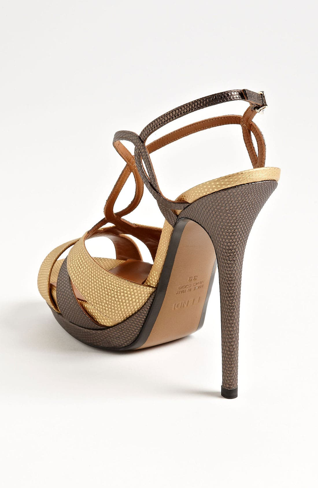 Alternate Image 2  - Fendi 'Twisted' Platform Sandal