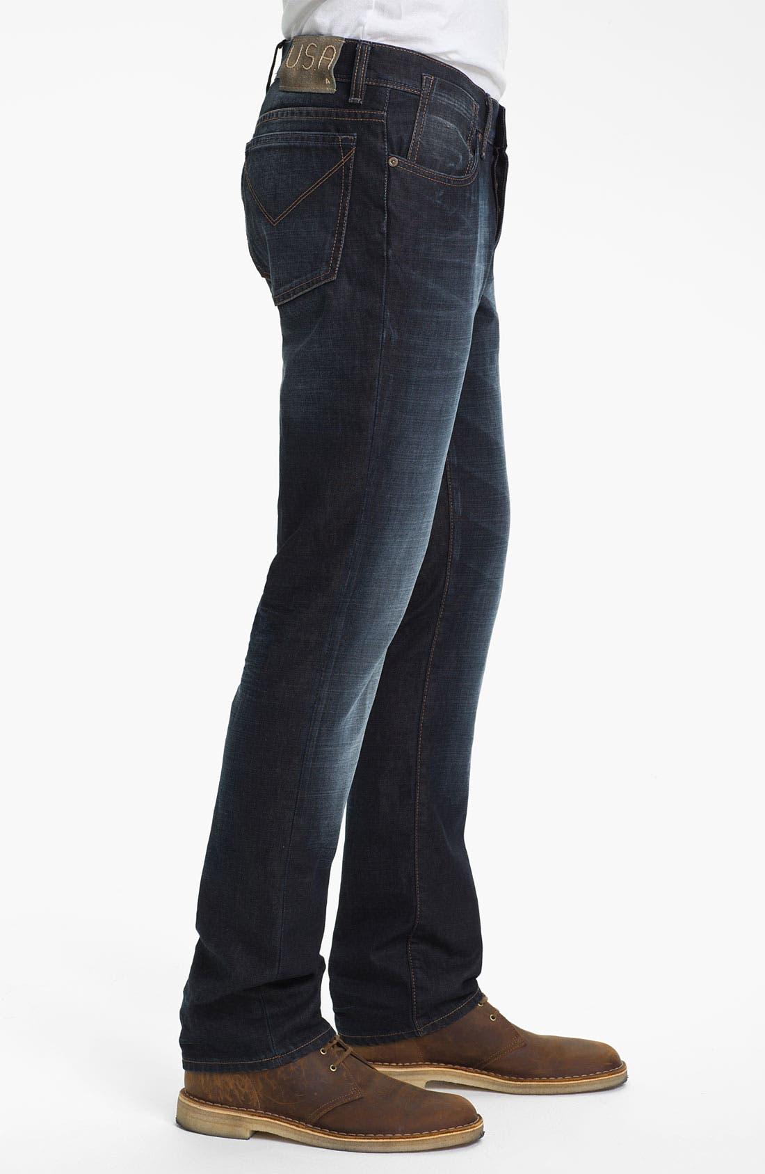 Alternate Image 3  - John Varvatos Star USA 'Fisher' Straight Leg Jeans (Storm)