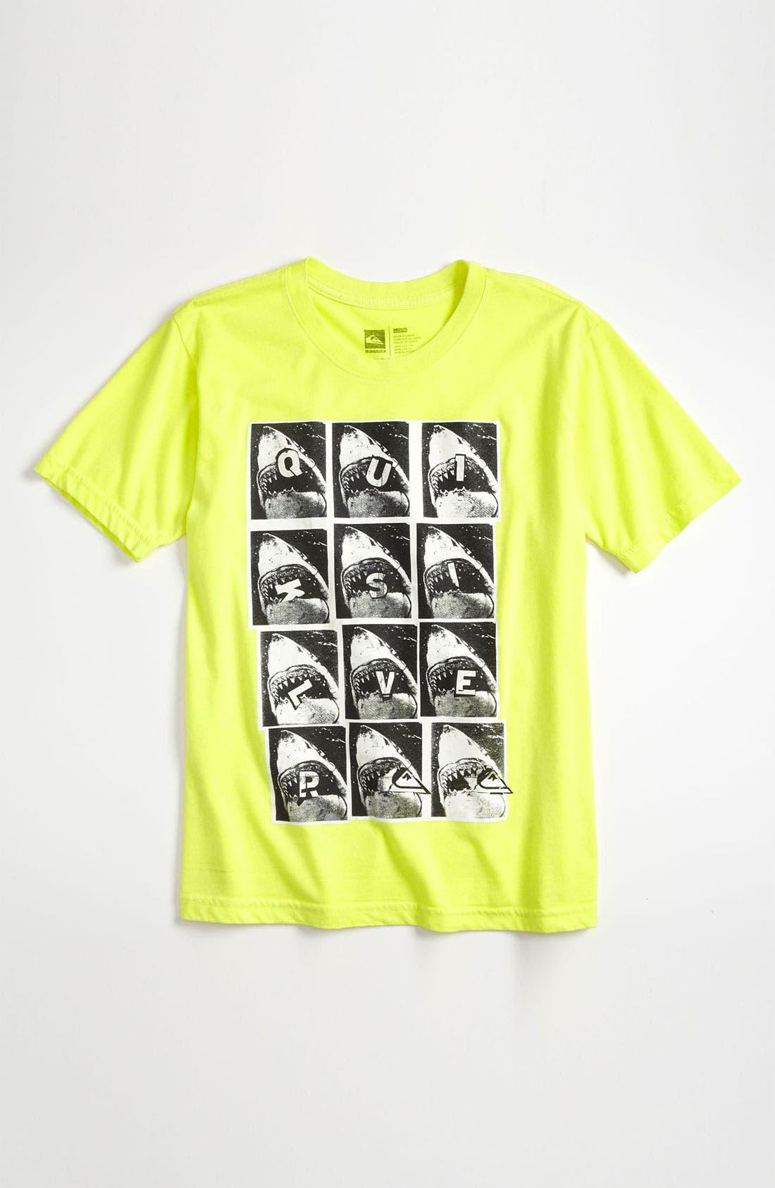Main Image - Quiksilver T-Shirt & Shorts & DC Shoes Skate Shoe (Big Boys)