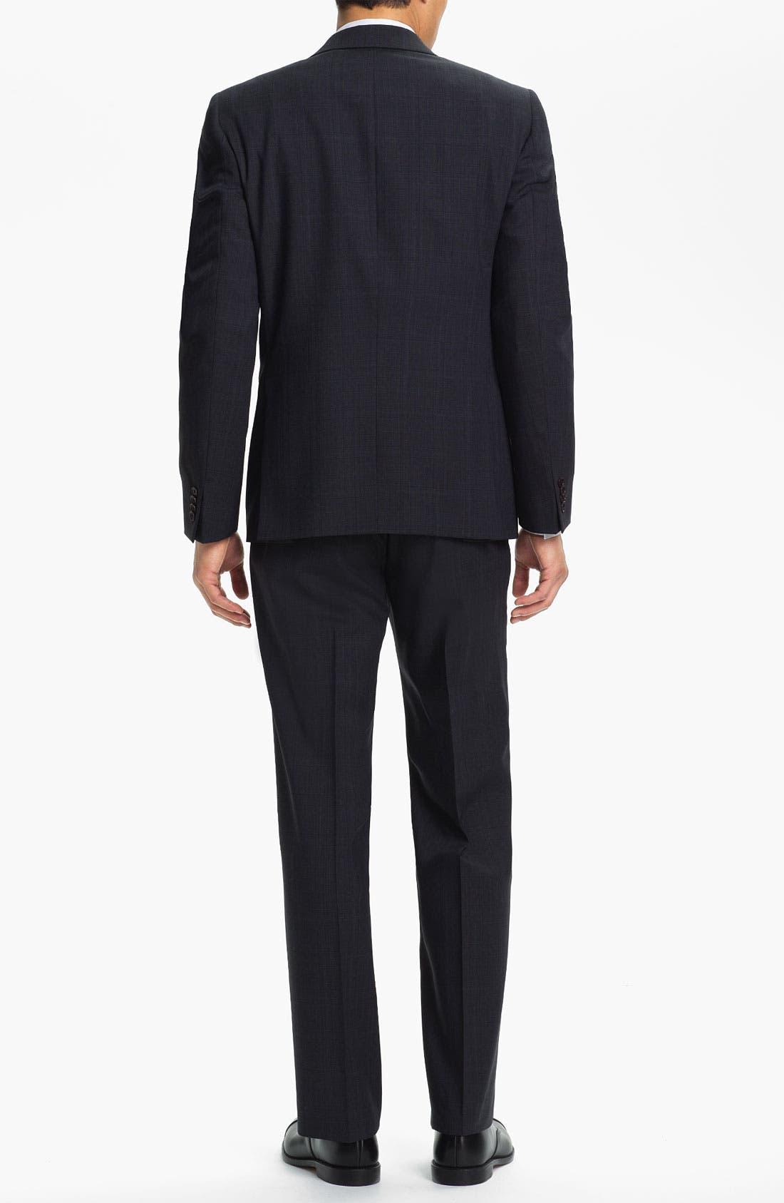 Alternate Image 3  - John Varvatos Star USA 'Irving' Trim Fit Three Piece Suit