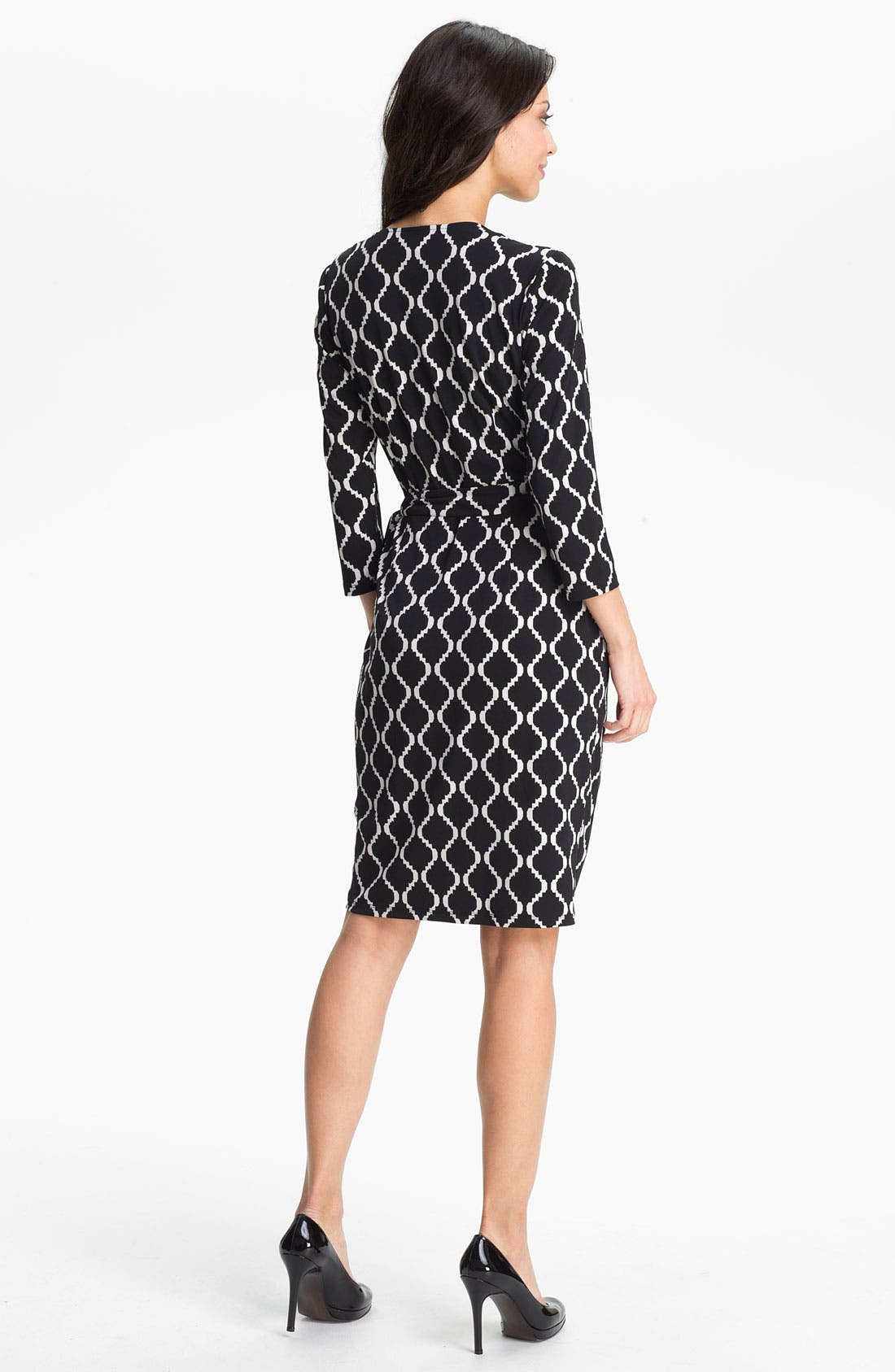 Alternate Image 2  - Maggy London Print Wrap Dress