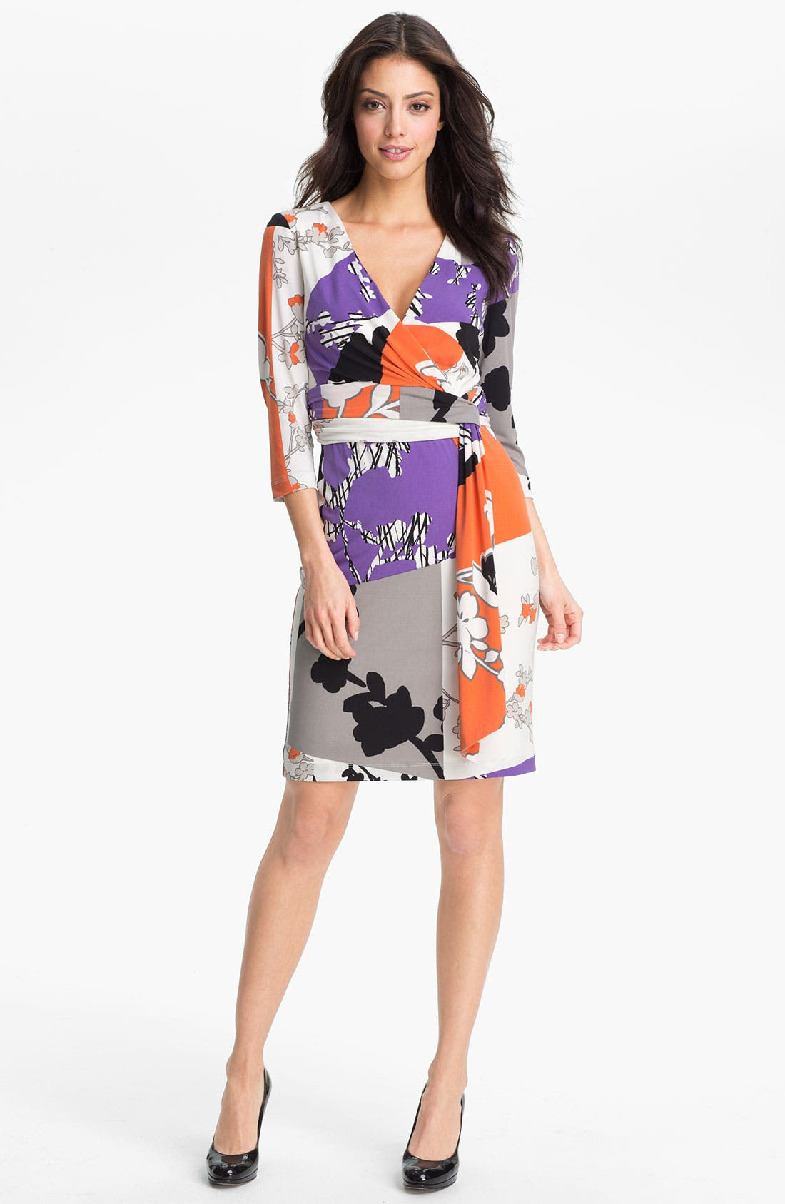 Alternate Image 1 Selected - Maggy London Printed Jersey Dress