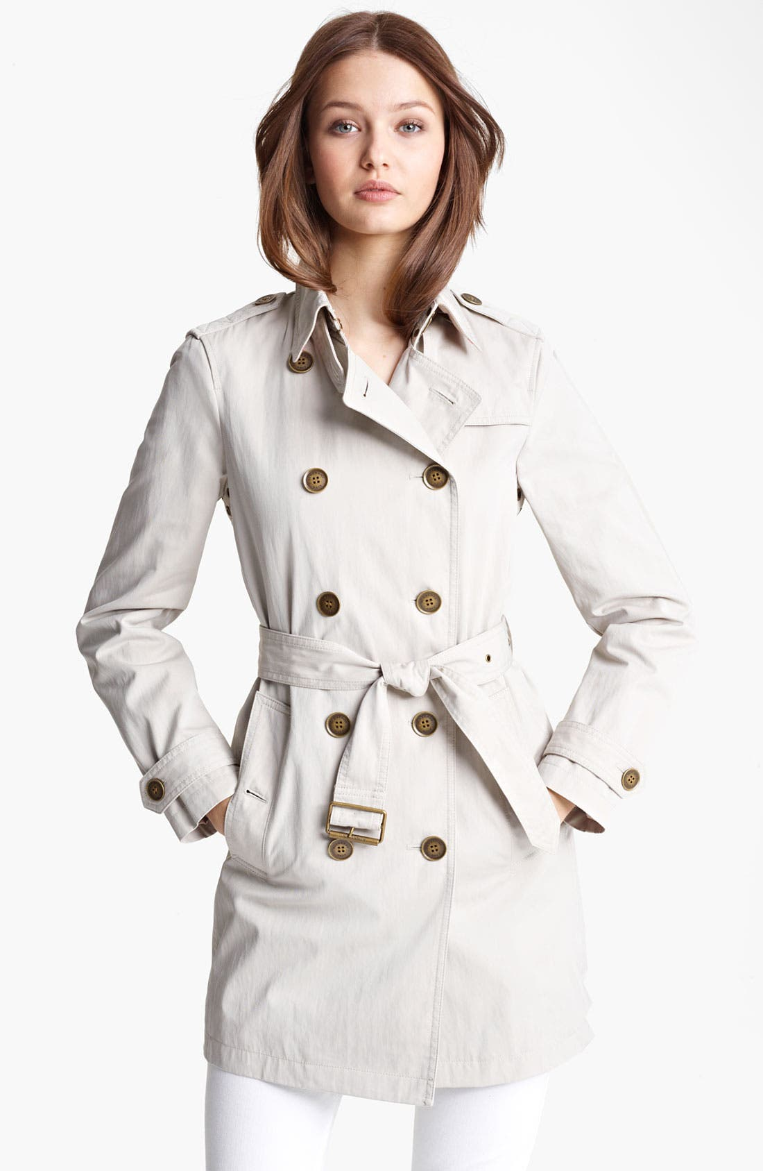 Alternate Image 1 Selected - Burberry Brit 'Pembrooke' Trench Coat