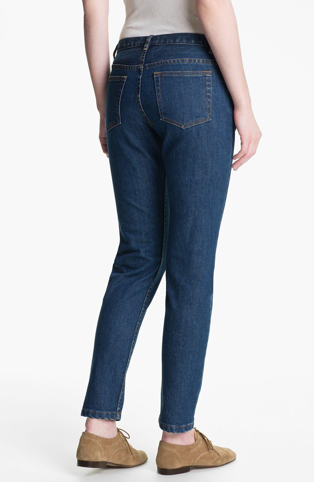 Alternate Image 2  - A.P.C. Slim Leg Crop Jeans