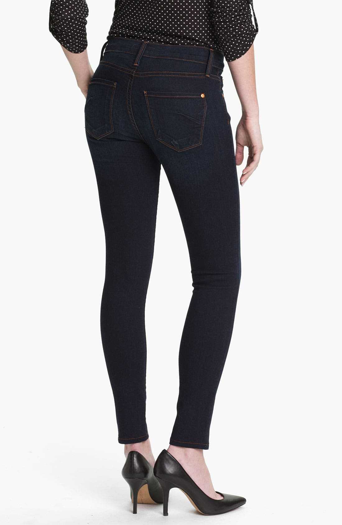 Alternate Image 2  - James Jeans Stretch Denim Leggings (Petite) (Online Only)