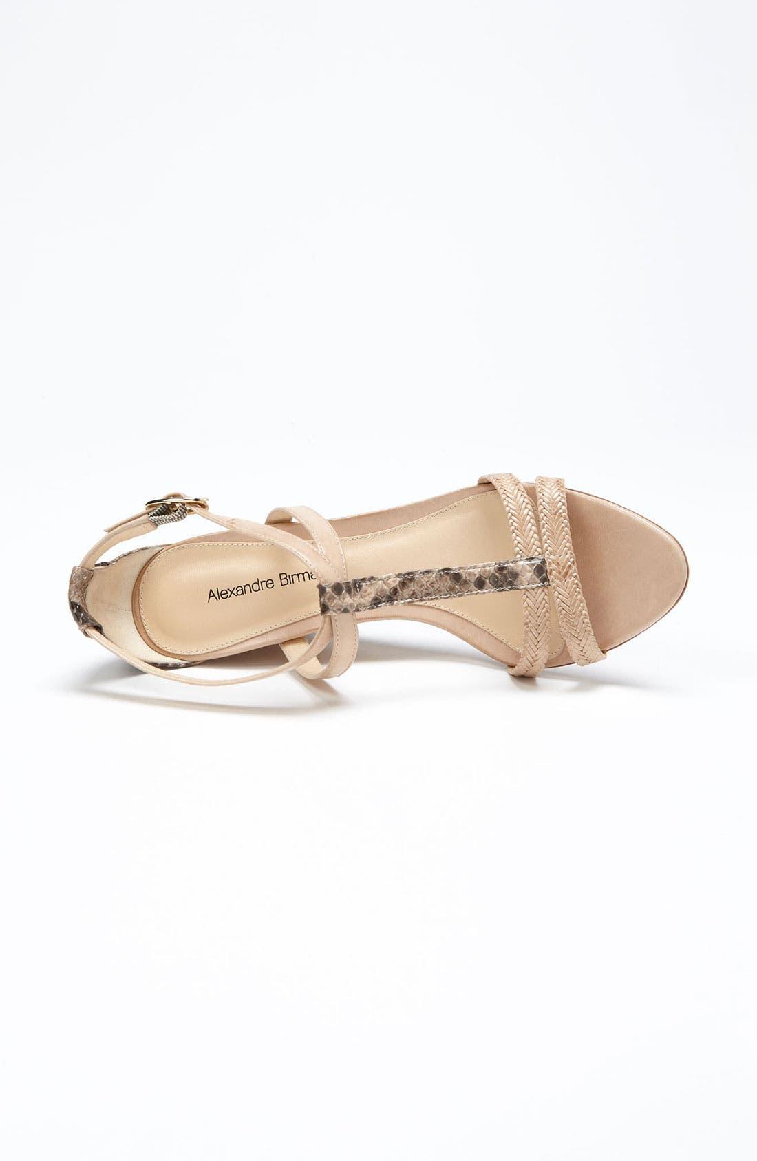 Alternate Image 3  - Alexandre Birman Braid Cork Sandal
