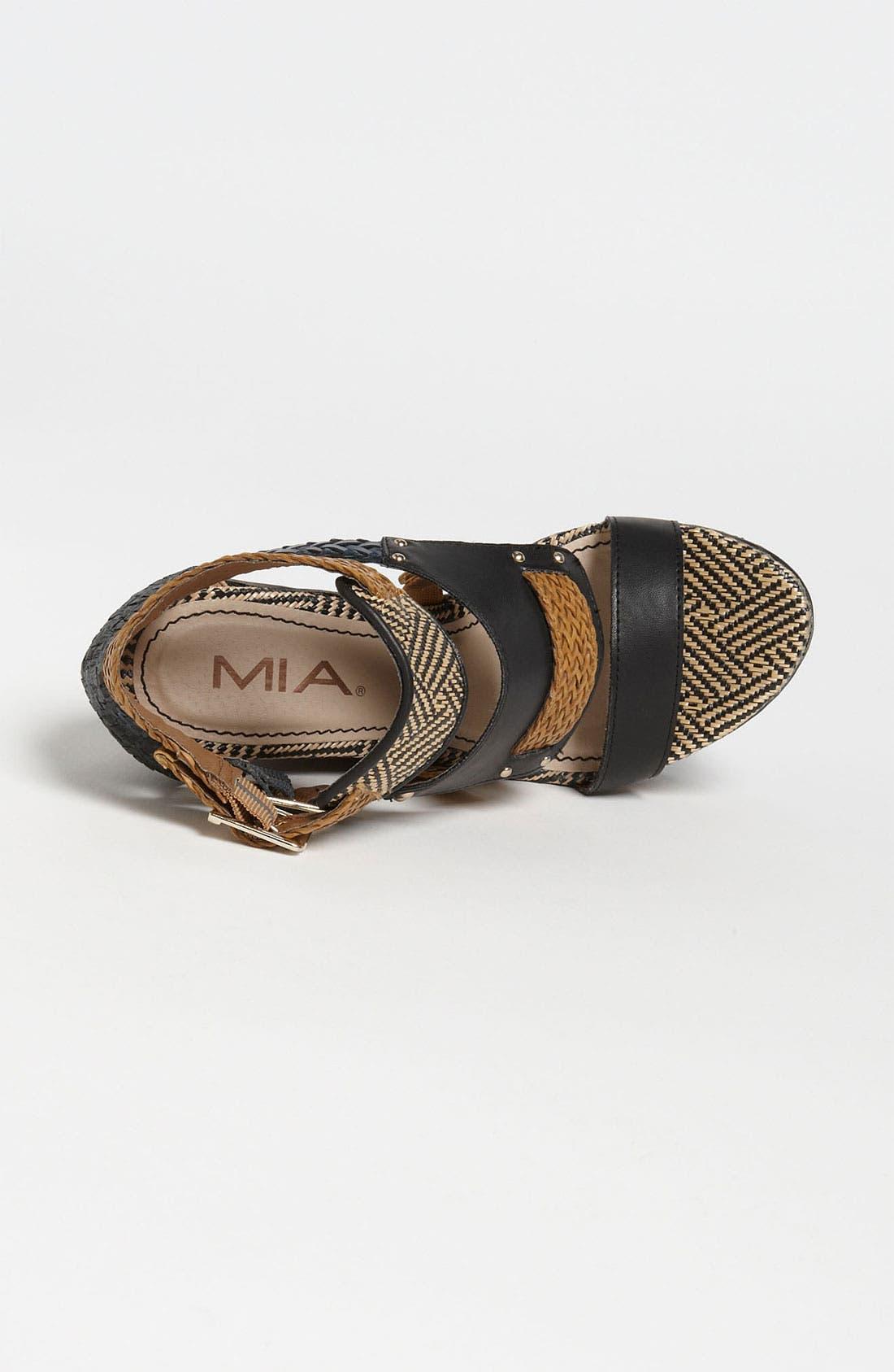 Alternate Image 3  - MIA 'Frida' Wedge Sandal
