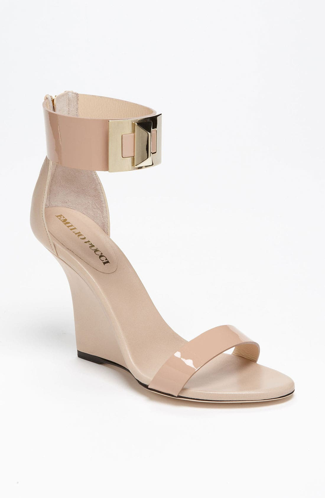 Alternate Image 1 Selected - Emilio Pucci 'Marquise' Wedge Sandal