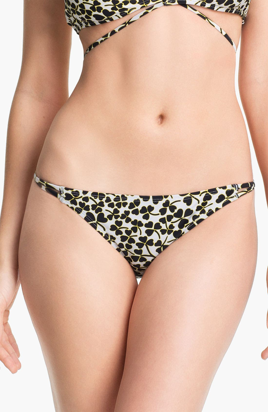 Main Image - 'DVF Loves Roxy - Binded Surfer' Bikini Bottoms