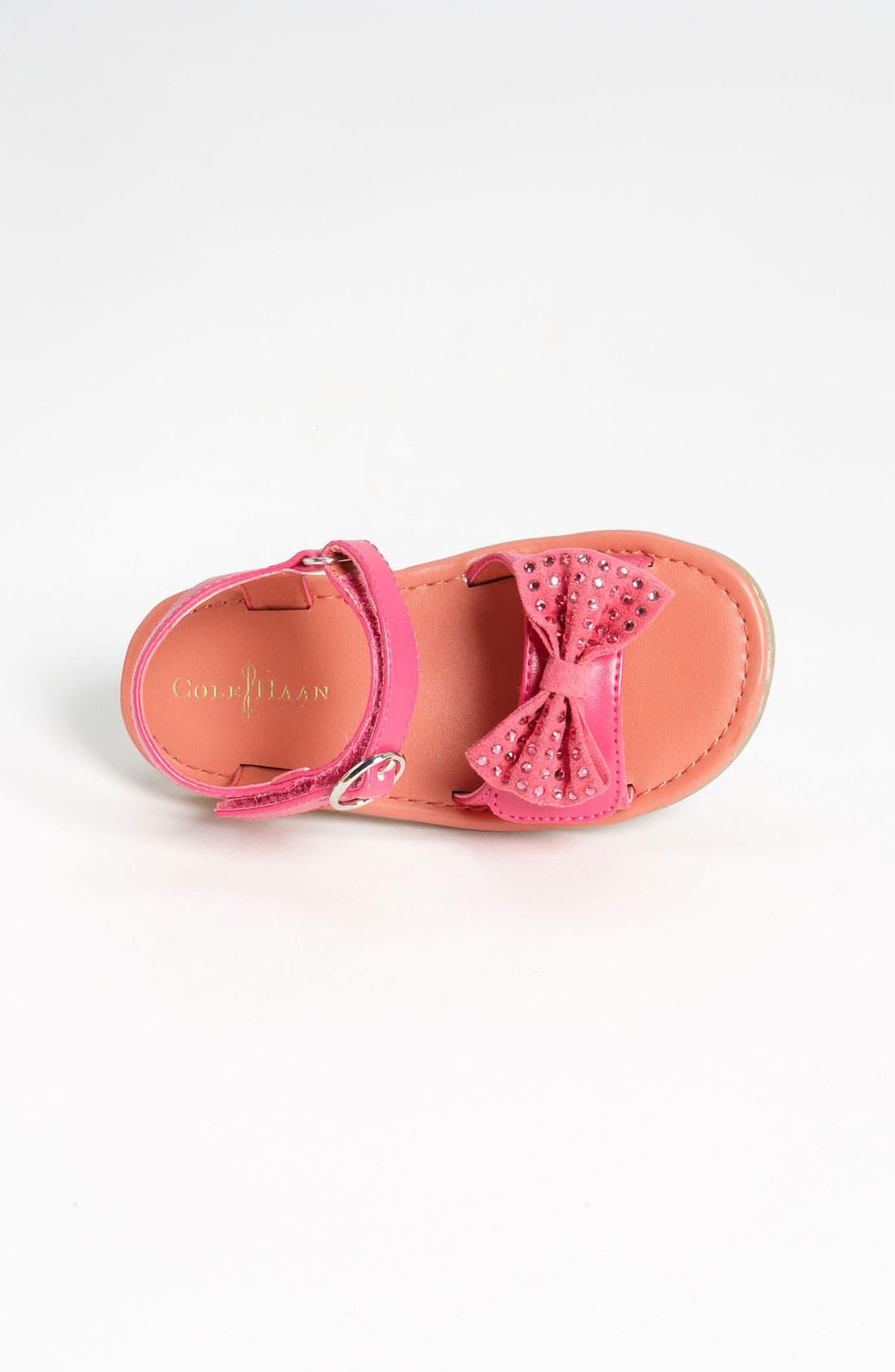 Alternate Image 3  - Cole Haan 'Apple Bow' Sandal (Walker & Toddler)