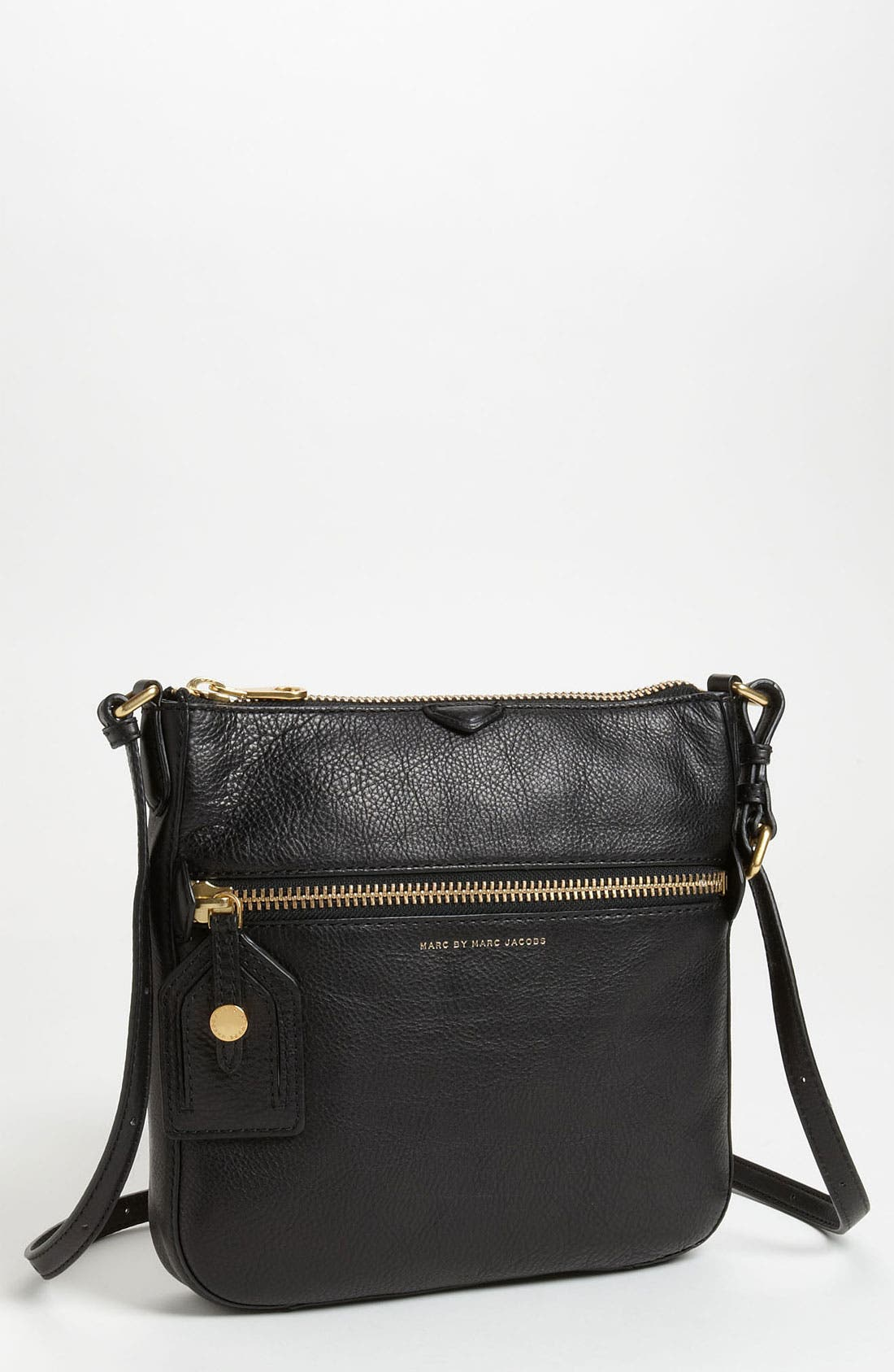 Alternate Image 1 Selected - MARC BY MARC JACOBS 'Globetrotter - Kit Calley' Leather Crossbody Bag