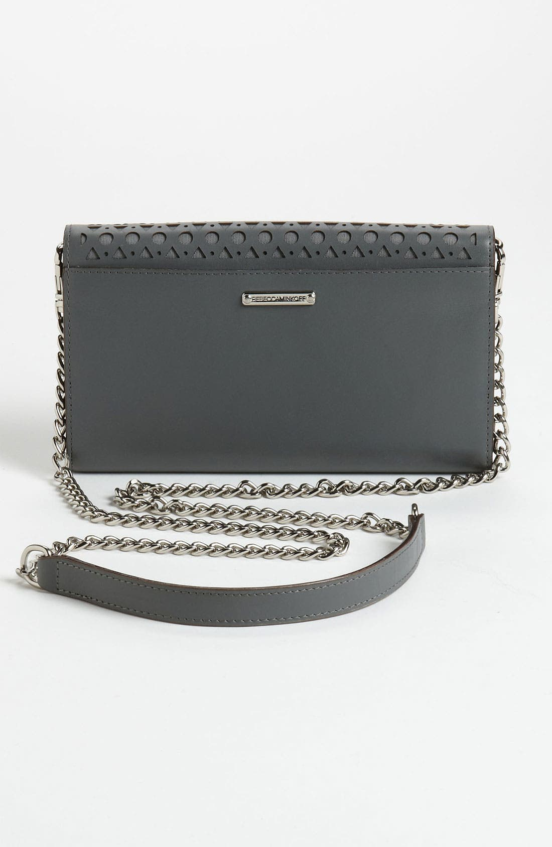 Alternate Image 4  - Rebecca Minkoff Laser Cut Wallet on a Chain
