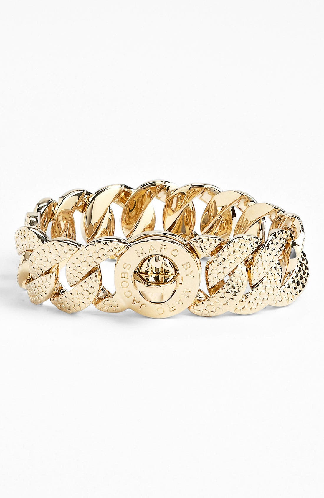 Alternate Image 1 Selected - MARC BY MARC JACOBS 'Turnlock - Katie Lizard' Large Bracelet