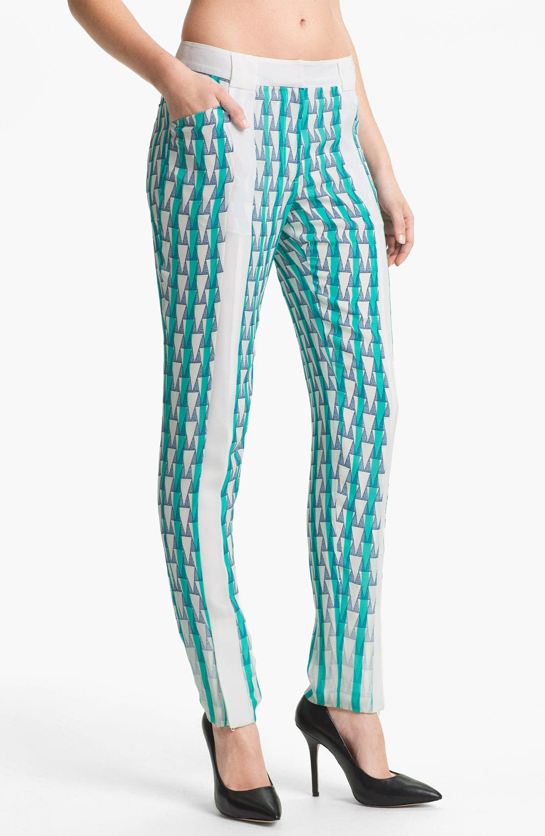 Alternate Image 1 Selected - Rebecca Minkoff 'Cory' Silk Pants