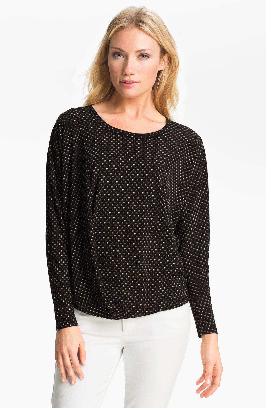 Alternate Image 1 Selected - MICHAEL Michael Kors Drape Hem Top