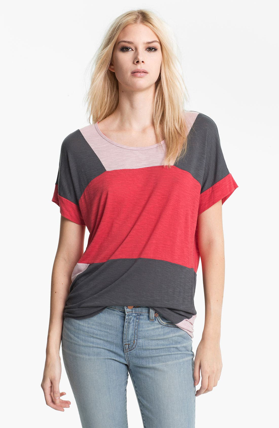 Alternate Image 1 Selected - MARC BY MARC JACOBS 'Tanya' Colorblock Tee