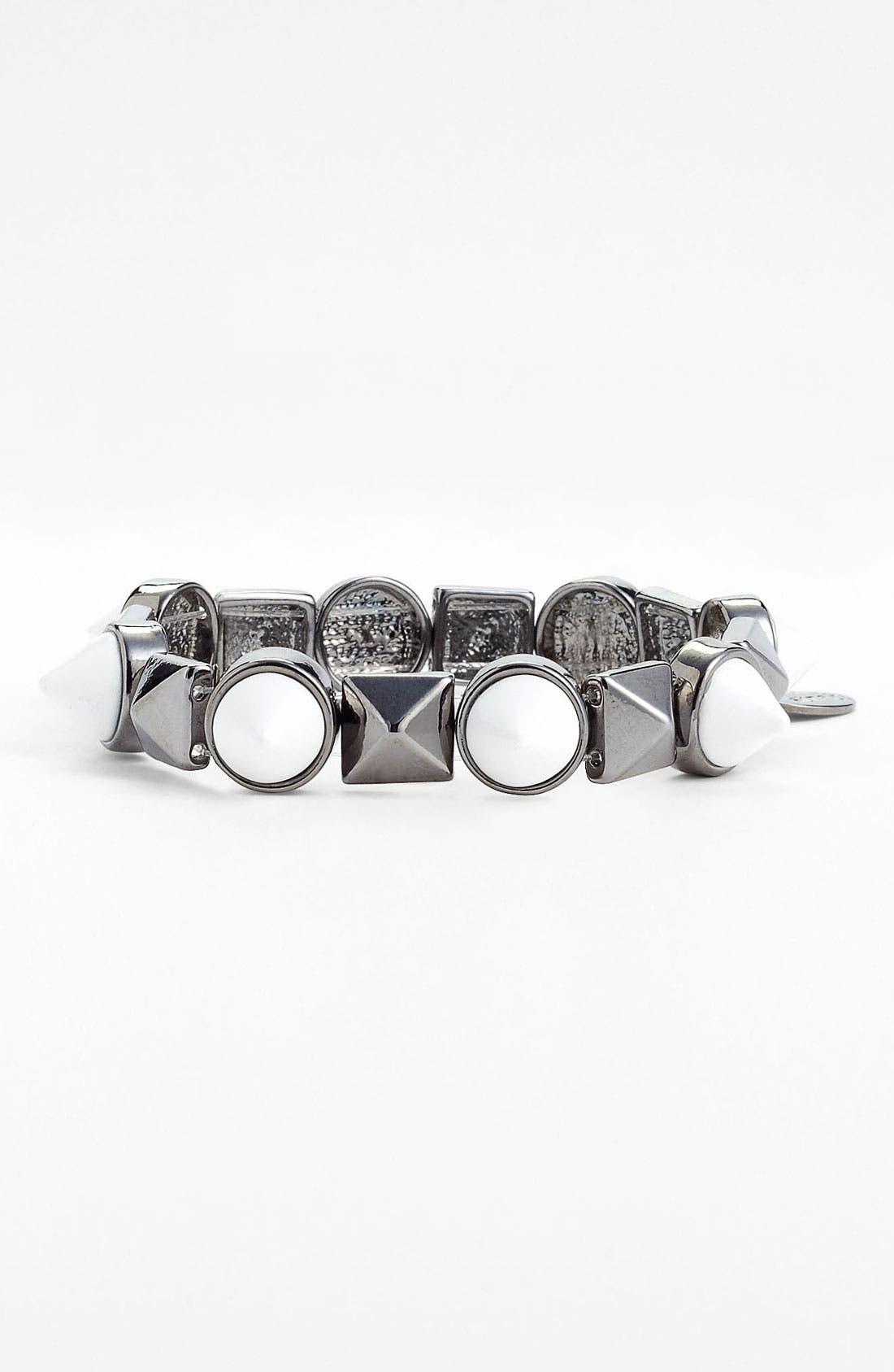 Alternate Image 1 Selected - Spring Street Studded Stretch Bracelet (Nordstrom Exclusive)