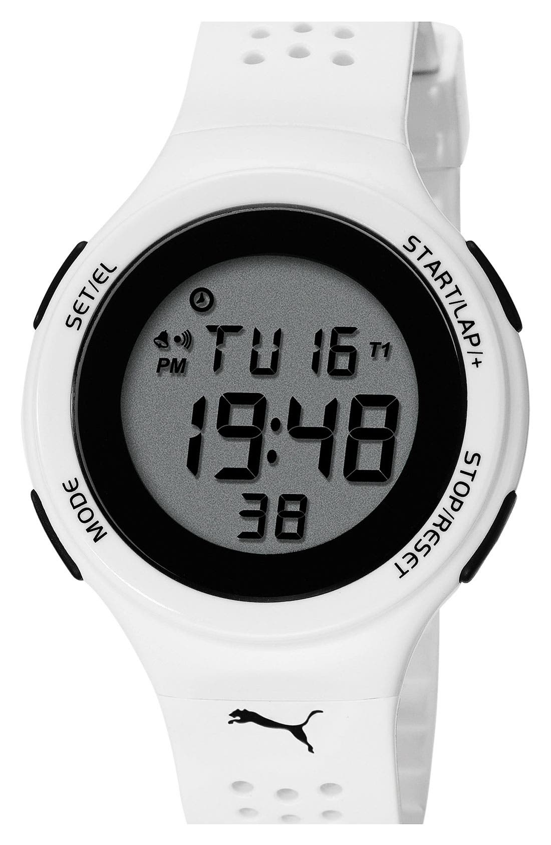 Alternate Image 1 Selected - PUMA 'Faas 200' Digital Sport Watch, 44mm