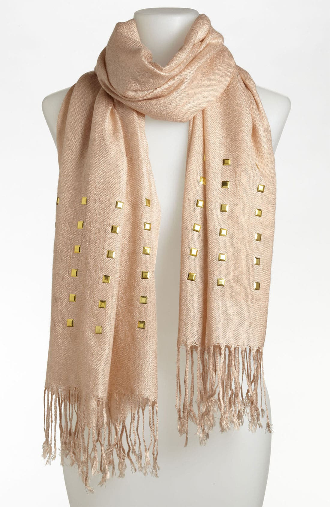 Alternate Image 1 Selected - Lulu Studded Scarf