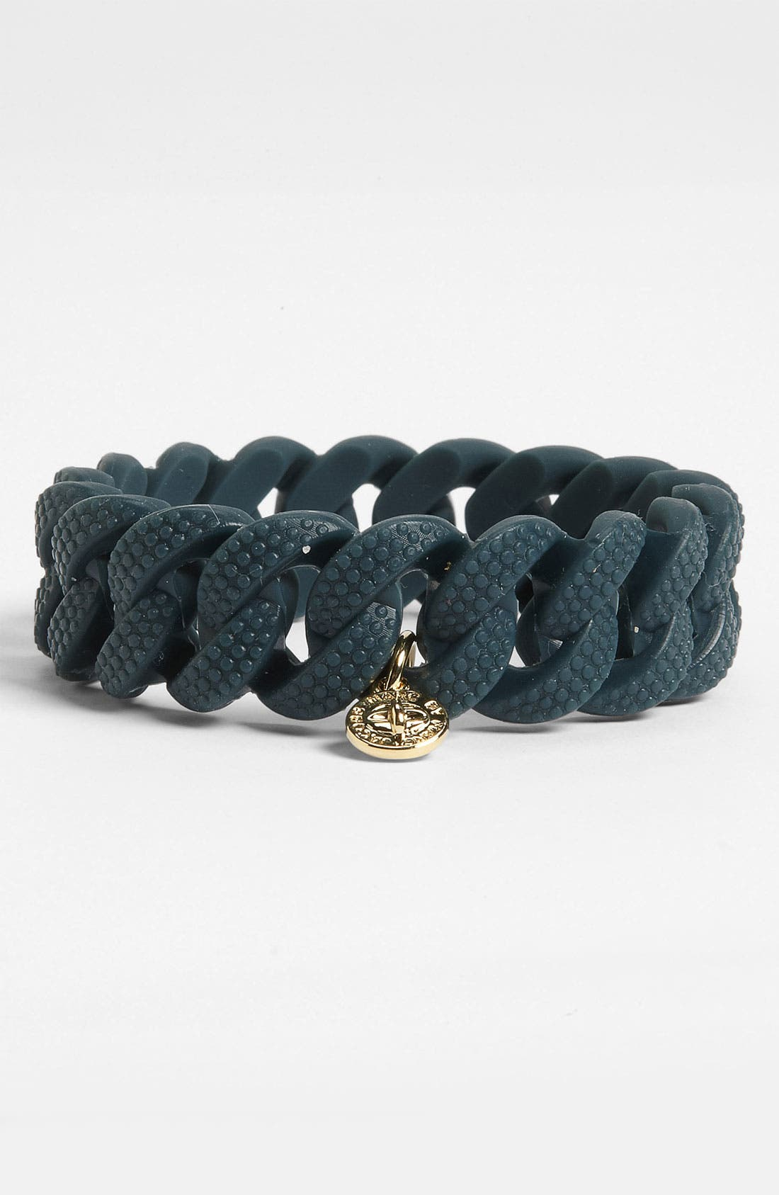 Main Image - MARC BY MARC JACOBS 'Rubber Turnlock - Katie Lizard' Stretch Bracelet