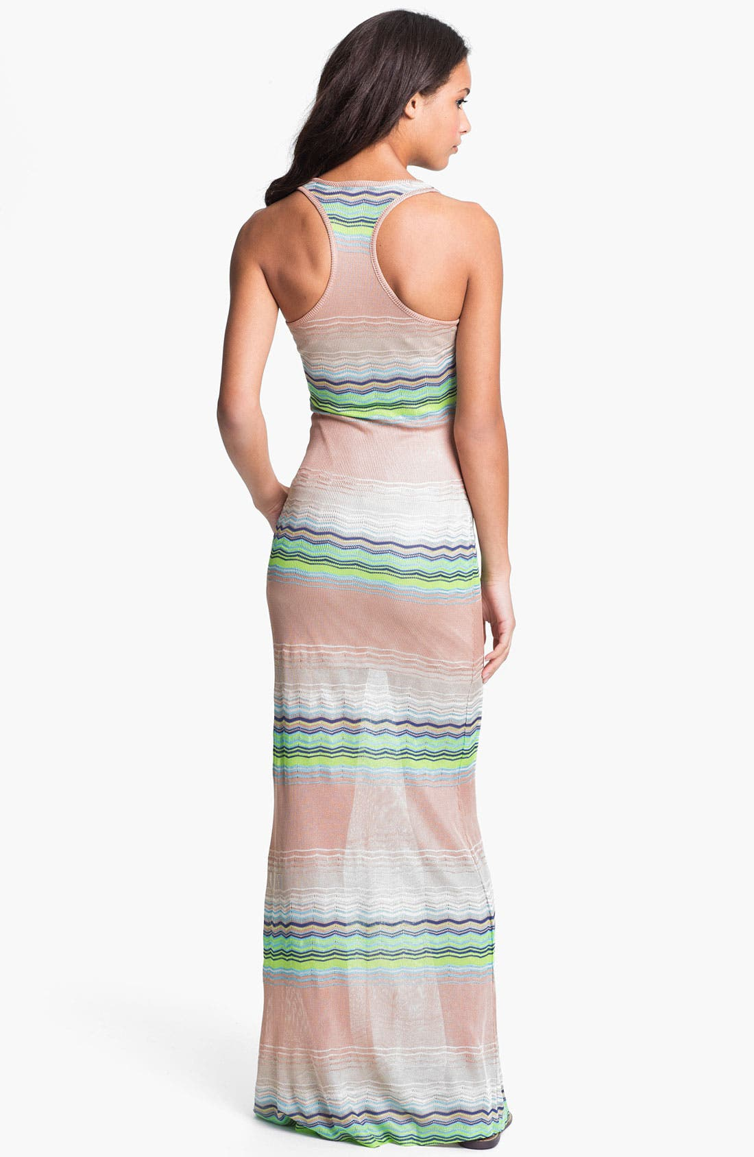 Alternate Image 2  - Young, Fabulous & Broke 'Hamptons' Zigzag Stripe Maxi Dress