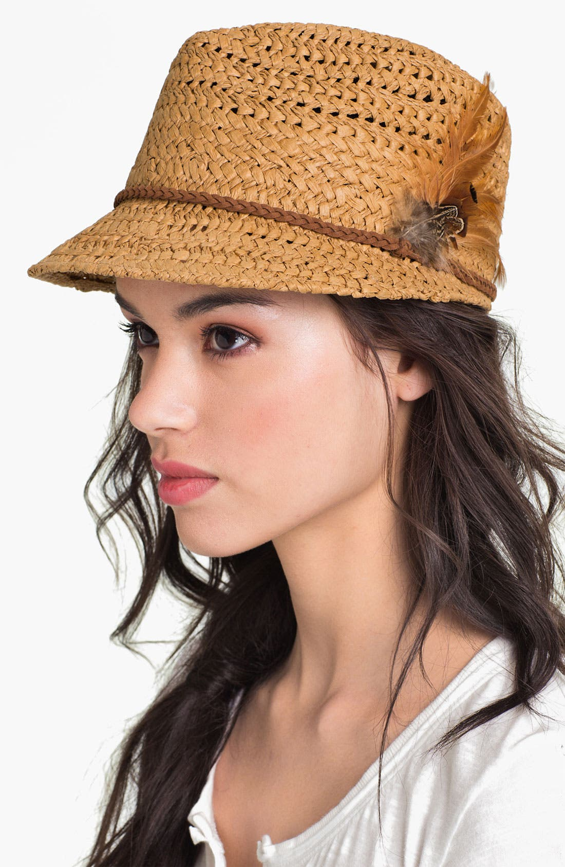 Alternate Image 1 Selected - San Diego Hat 'Feather Band' Cap