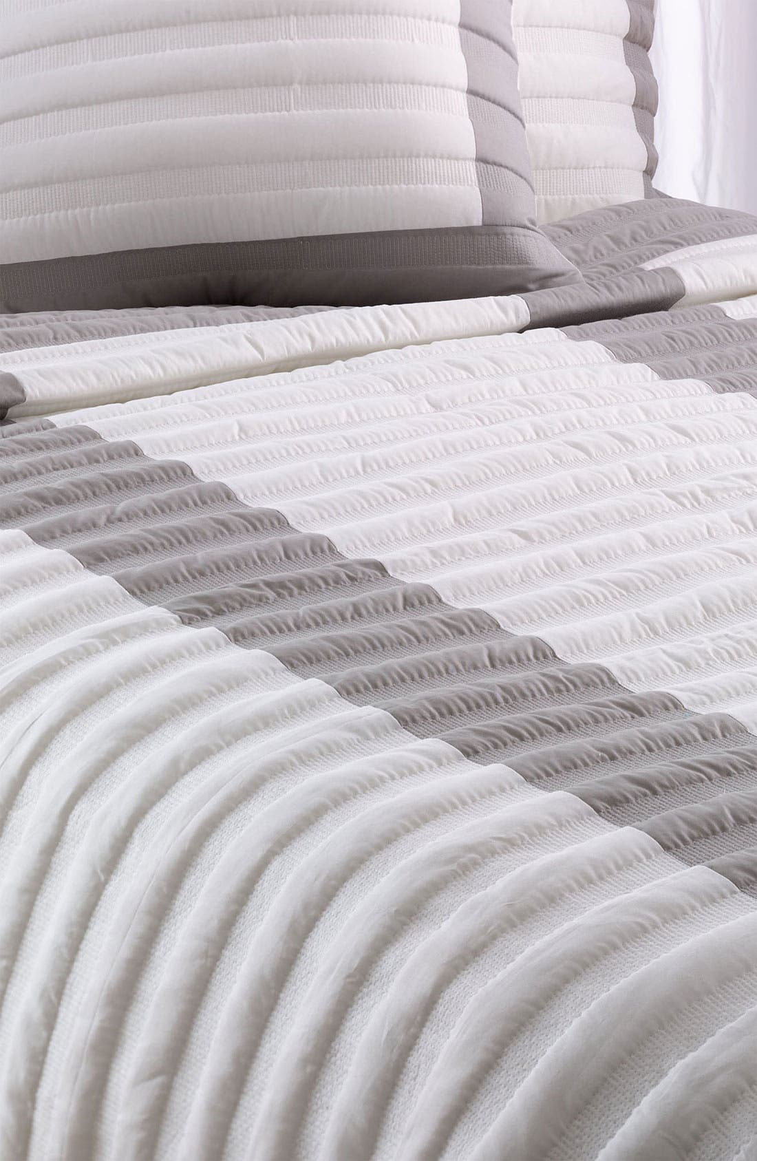 Alternate Image 1 Selected - Nordstrom at Home 'Shadow Stripe' Coverlet