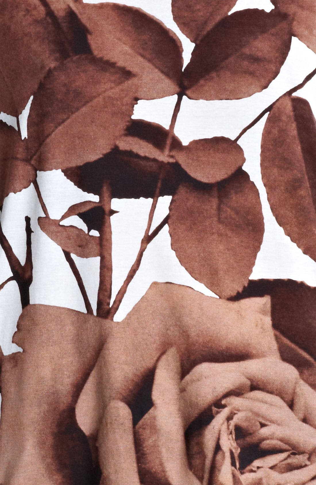 Alternate Image 3  - Christopher Kane Rose Print Tee