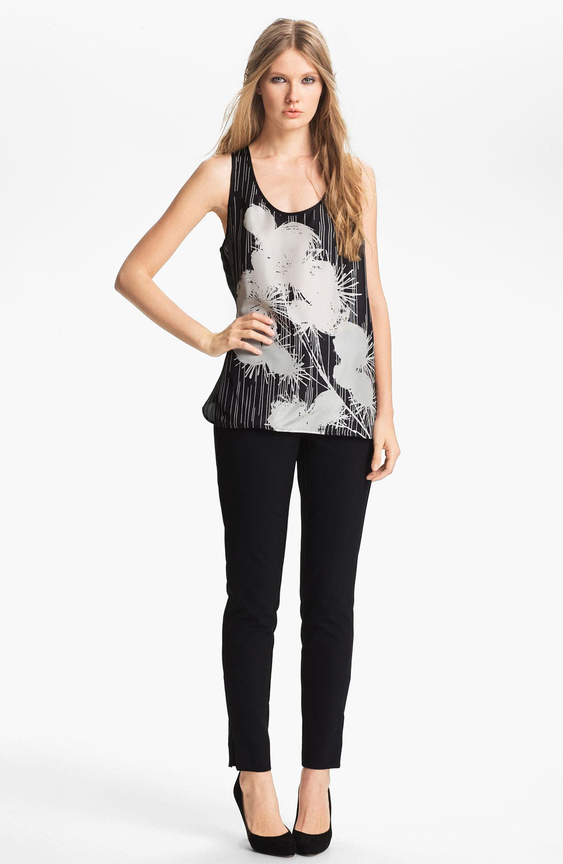 Main Image - Miss Wu Floral Print Tank (Nordstrom Exclusive)