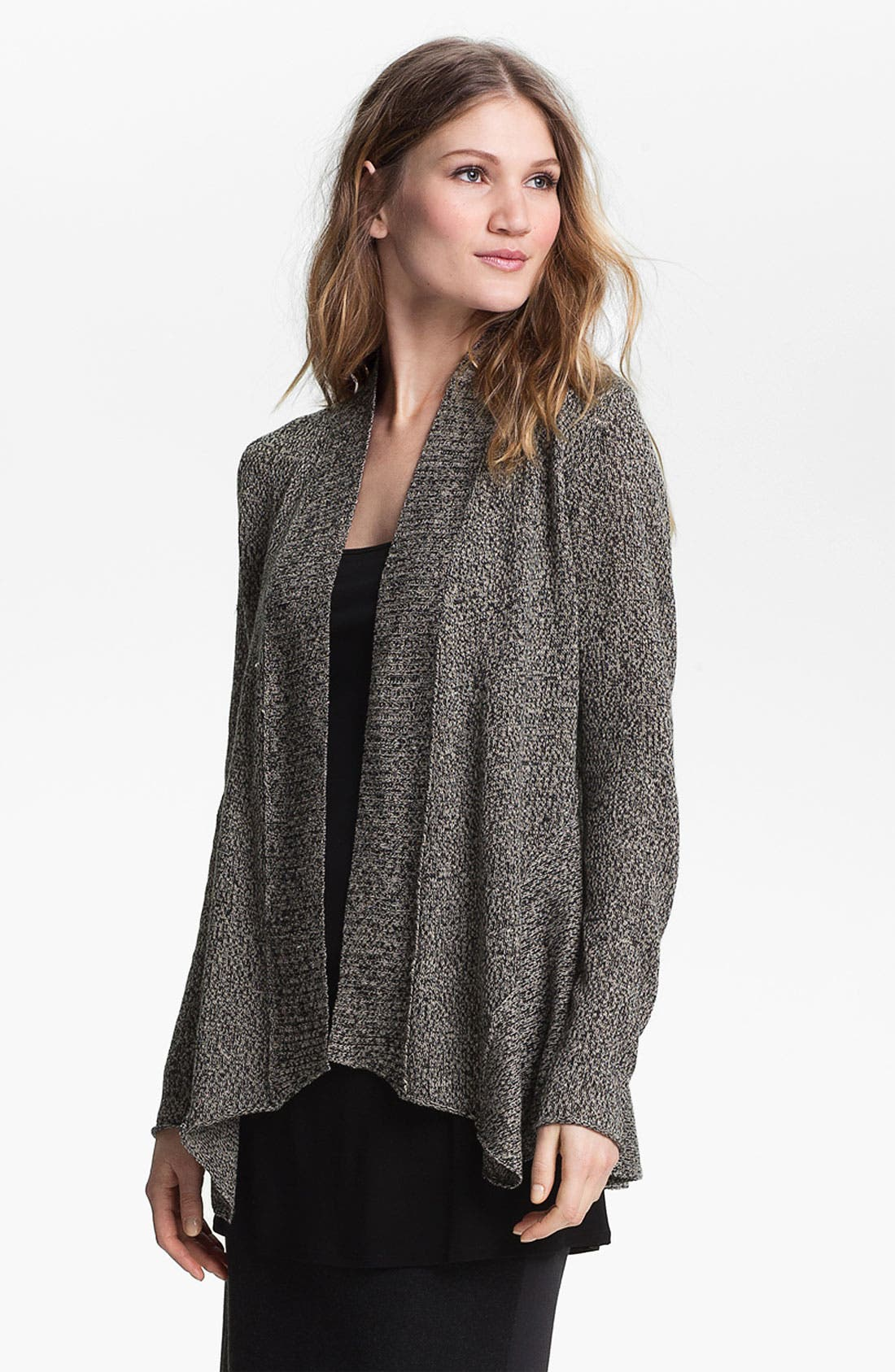 Alternate Image 1 Selected - Eileen Fisher Shaped Cardigan (Online Exclusive)