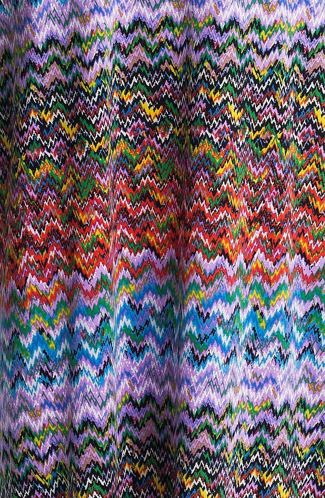 Alternate Image 3  - Tbags Los Angeles Braided Print Maxi Dress