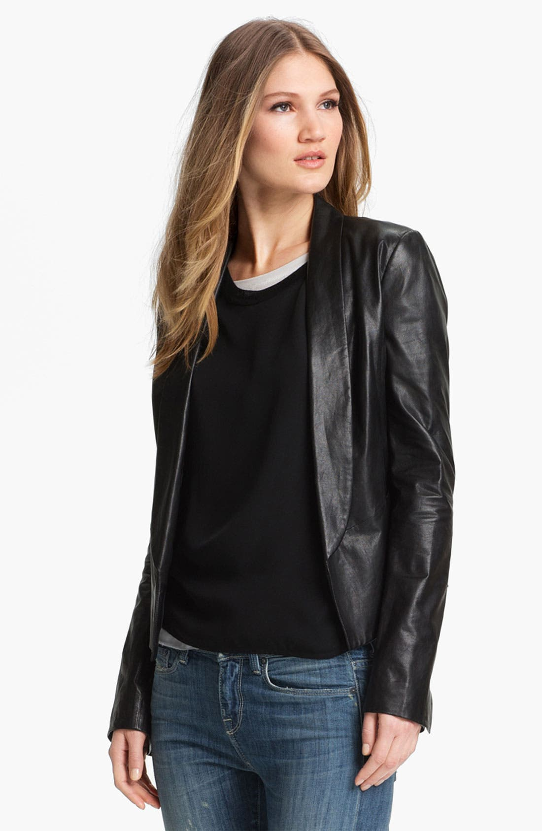 Main Image - Vince Leather Blazer
