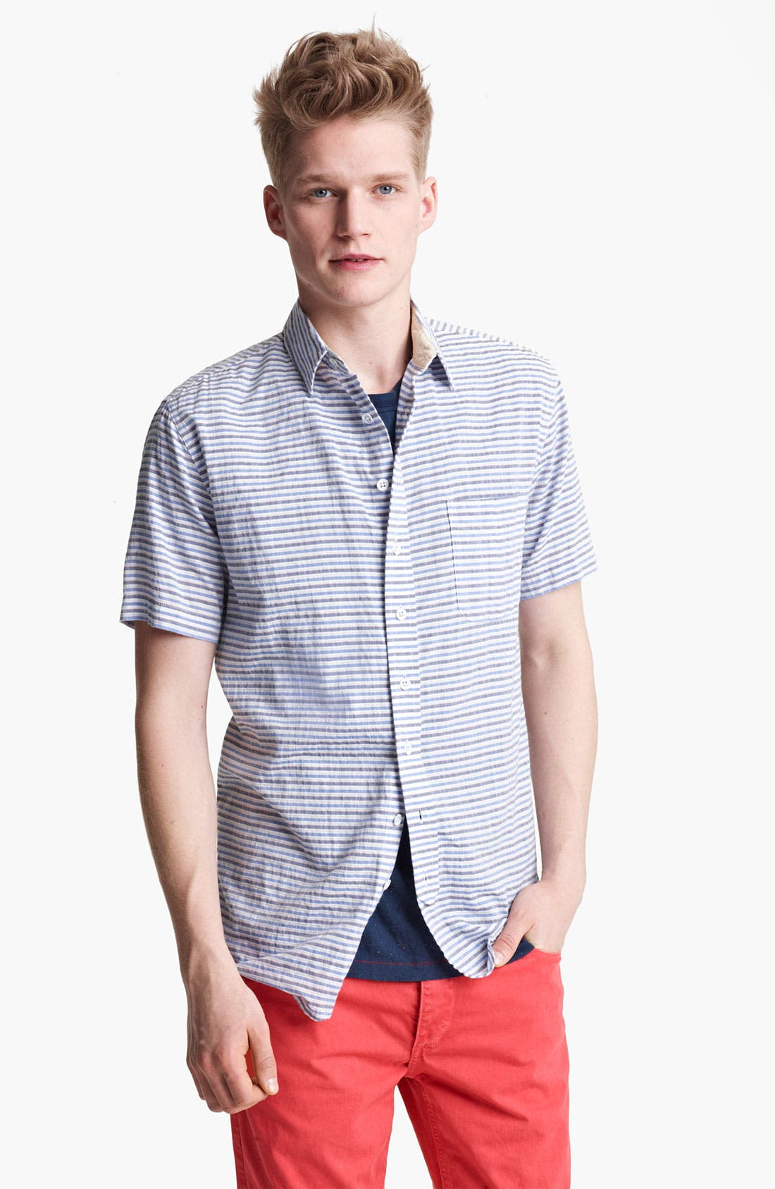 Main Image - rag & bone Stripe Woven Shirt