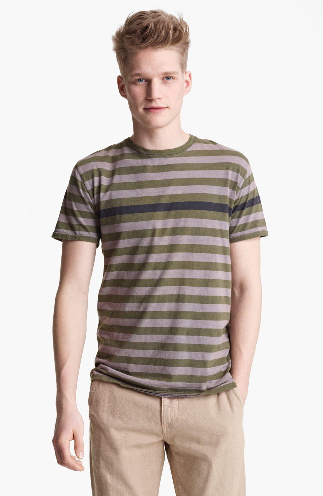 Alternate Image 1 Selected - rag & bone Perfect Stripe Crewneck T-Shirt