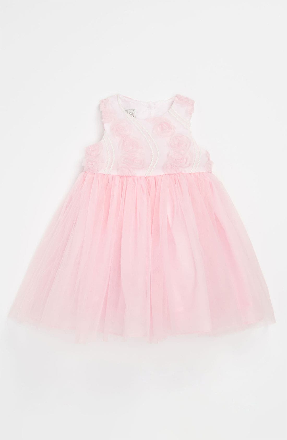 Main Image - Pippa & Julie Soutache Ballerina Dress (Toddler)