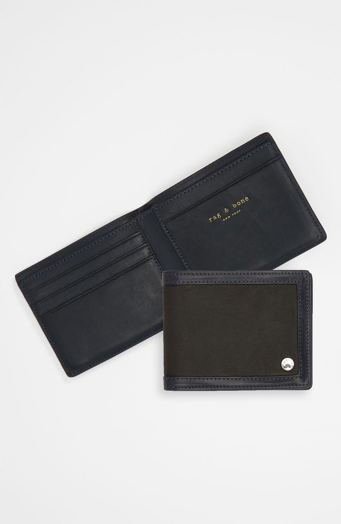 Alternate Image 1 Selected - rag & bone Leather Wallet