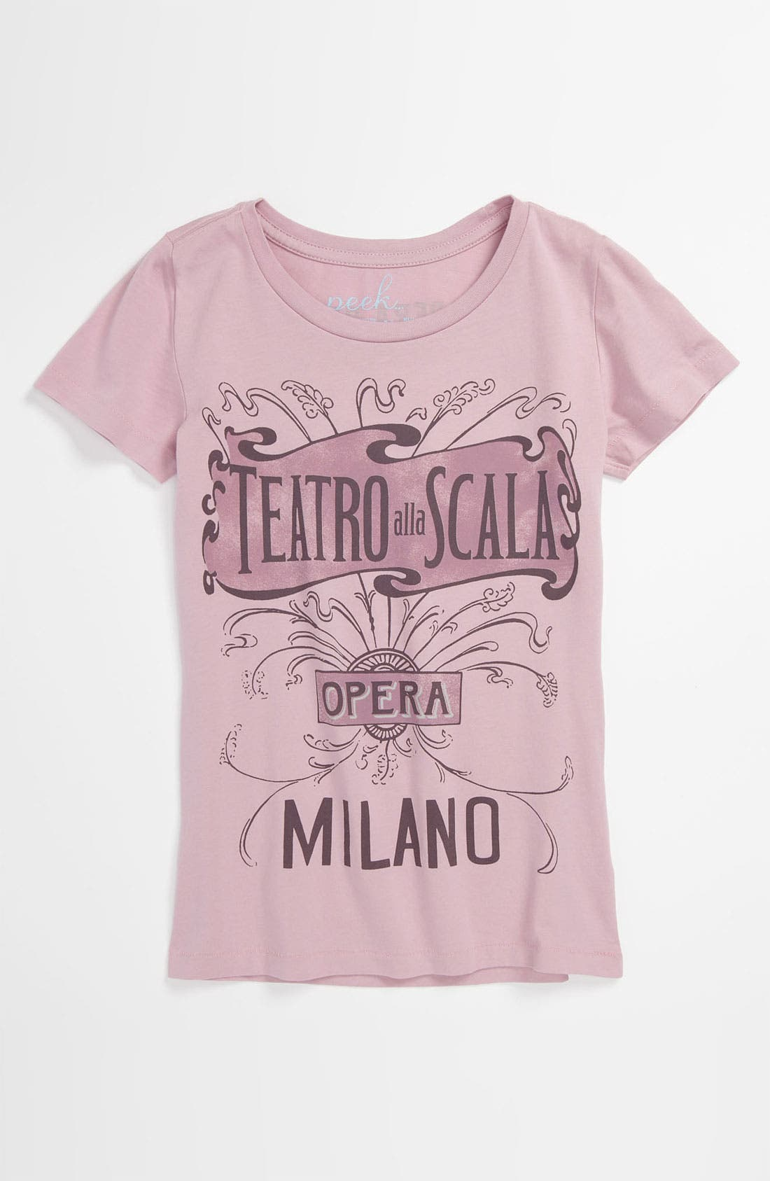Alternate Image 1 Selected - Peek 'Teatro' Tee (Toddler, Little Girls & Big Girls)